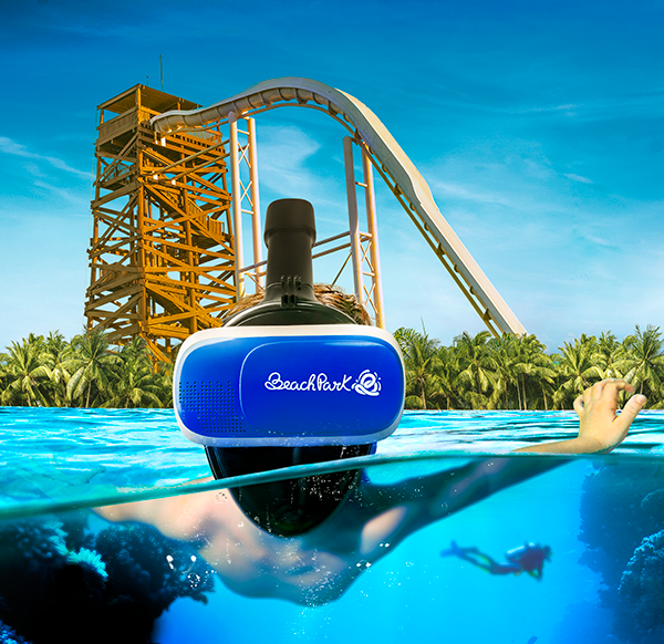 Submerso: a mais nova atração 4D 360 do Beach Park.